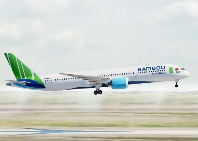 Bamboo Airways sẽ đón tàu bay thân rộng hiện đại B787 để phục vụ các đường bay dài