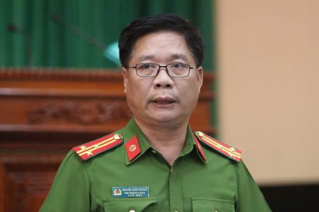Thượng tá Nguyễn Xuân Trường khẳng định không có sự phá hoại trong vụ cháy kho hàng Công ty Rạng Đông