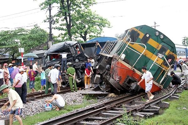 Tai nạn đường sắt tăng đột biến khiến tỷ lệ tàu Thống Nhất chạy đúng giờ chưa tới 50%