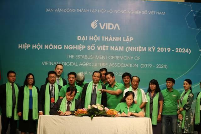 Hiệp hội Nông nghiệp số Việt Nam sáng nay, 29/9, đã tổ chức Đại hội lần thứ 1