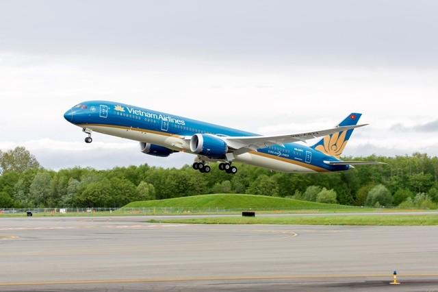 Một chuyến bay của Vietnam Airlines đi Úc bằng máy bay Boeing 787 đã không thể bung càng khi tiếp đất