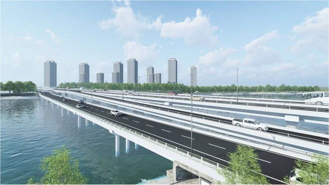 Hơn 340 tỷ đồng xây cầu đi thấp qua hồ Linh Đàm nối với vành đai 3