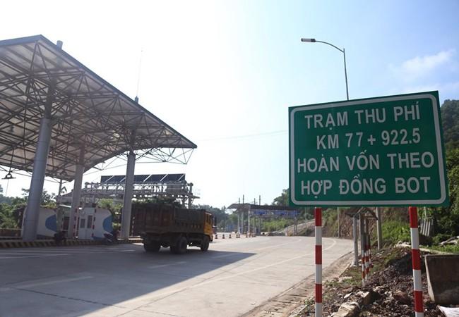 Trạm thu phí trên quốc lộ 3 thu phí hoàn vốn cho tuyến đường Thái Nguyên-Chợ Mới sắp đi vào hoạt động