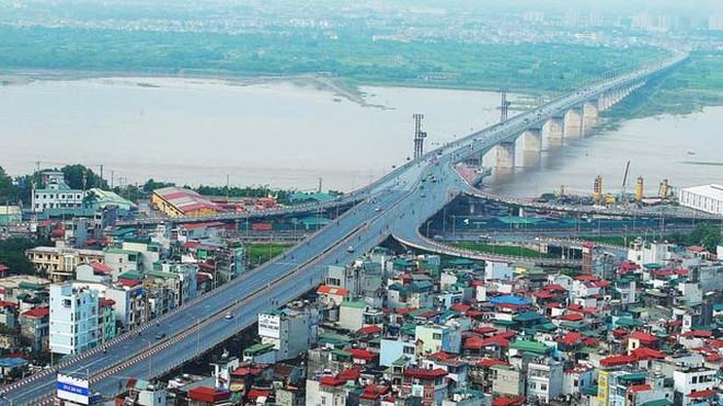 Cầu Vĩnh Tuy giai đoạn 2 sẽ có thiết kế tương tự cầu Vĩnh Tuy giai đoạn 1
