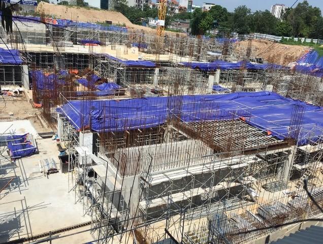 Dự án bệnh viện An Sinh đã rầm rộ thi công trên diện tích 1.200m2