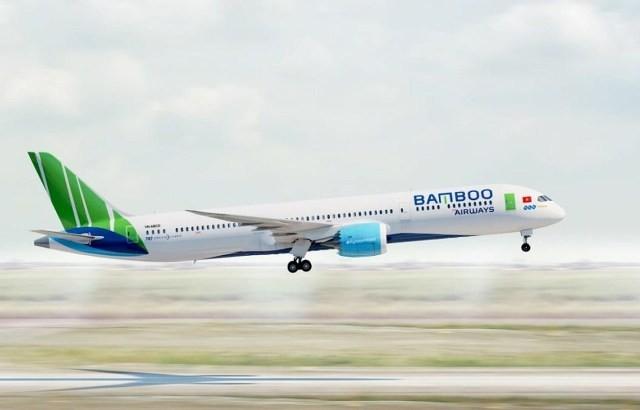 """Dự kiến, """"siêu"""" tàu bay B787-9 đầu tiên sẽ được Bamboo Airways nhận về vào ngày 22/12 tới đây"""