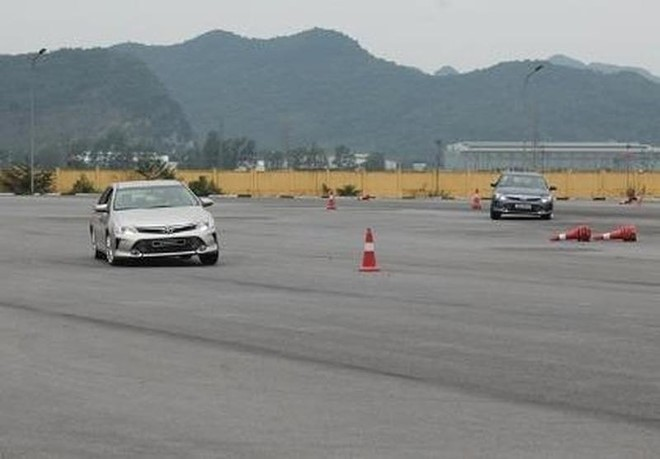 Các trung tâm sát hạch lái xe phải lắp đặt camera giám sát trước ngày 25/12 tới đây