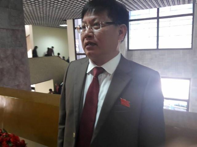 Ông Phạm Xuân Phương, Bí thư Huyện ủy Sóc Sơn