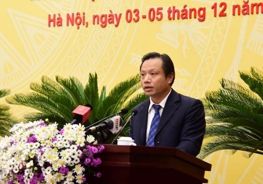 Ông Nguyễn Trúc Anh- Giám đốc Sở QH-KT Hà Nội (ảnh Phú Khánh)