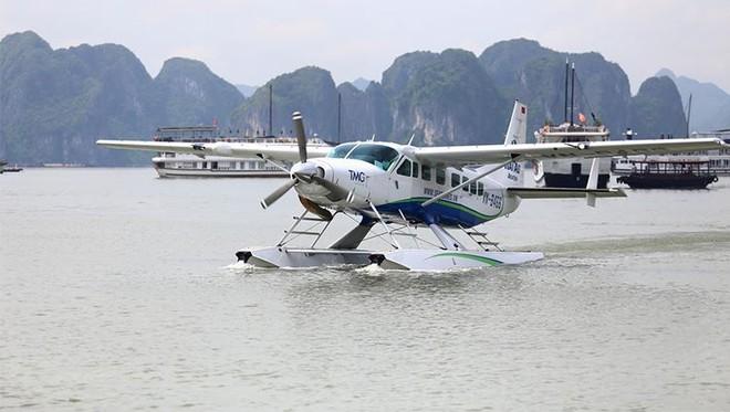Thủy phi cơ Hải Âu cung cấp dịch vụ bay từ Nội Bài đi Hạ Long
