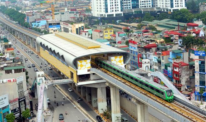 13 đoàn tàu thuộc dự án đường sắt đô thị Cát Linh- Hà Đông vừa được cấp Giấy chứng nhận đăng kiểm tạm thời để vận hành thử