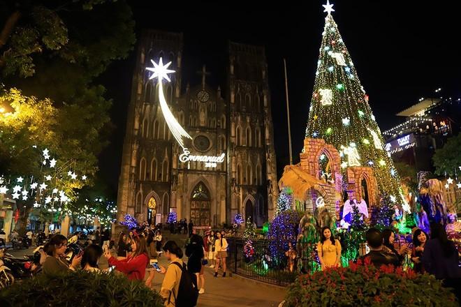 Thời tiết trên cả nước dịp lễ Noel khá đẹp, tại Hà Nội không có mưa