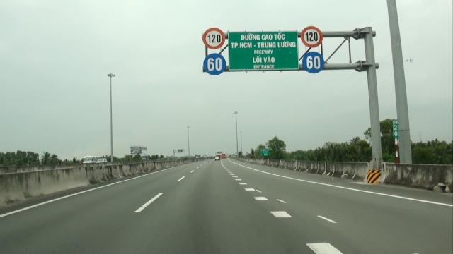 Cao tốc TP.HCM- Trung Lương đã dừng thu phí từ đầu năm 2019 đến nay