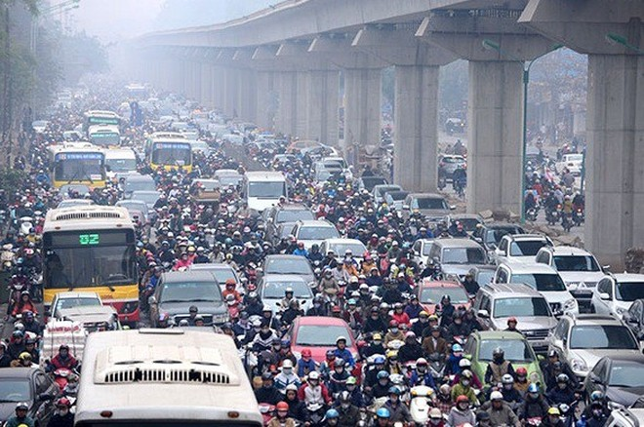 Chất lượng không khí tại Hà Nội vẫn cực xấu, người dân nên hạn chế ra đường
