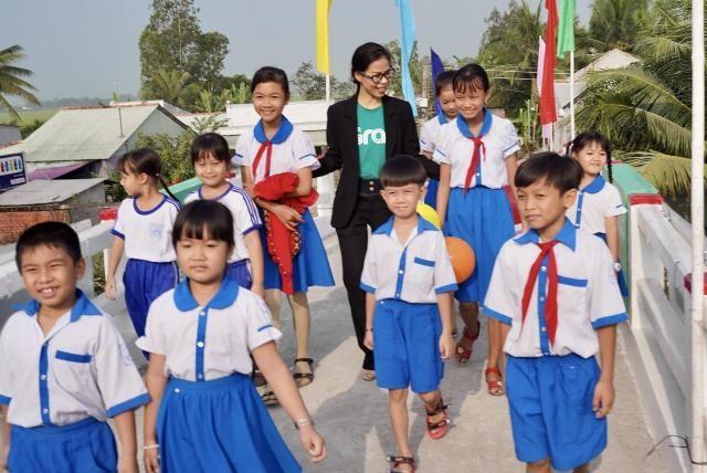 Đây là hoạt động đầu tiên của bà Nguyễn Thái Hải Vân với cương vị tân Giám đốc điều hành Grab Việt Nam (Ảnh: Tất Đạt)