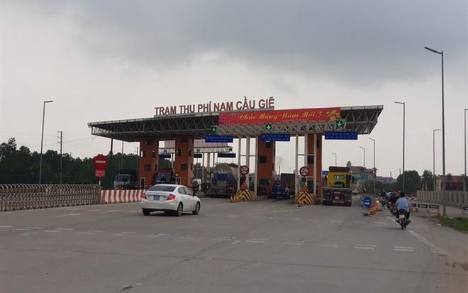 Bộ GTVT chưa đồng ý tăng phí qua trạm BOT Nam Cầu Giẽ