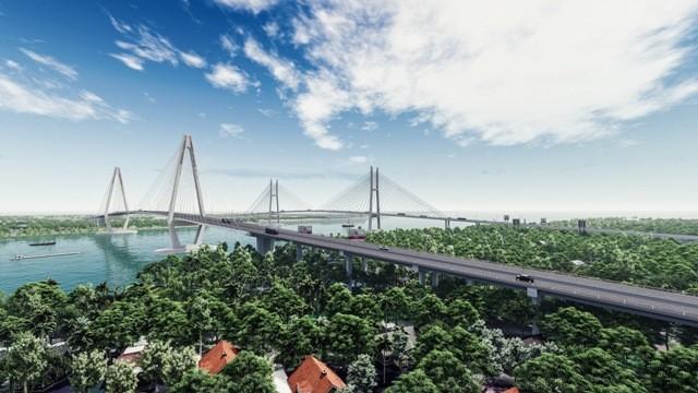 Dự án cầu Mỹ Thuận 2 vừa được Bộ GTVT khởi công xây dựng