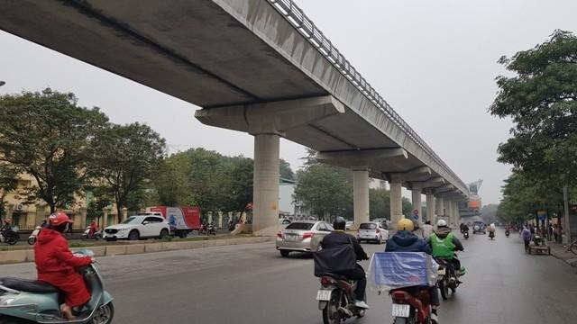 Đường sắt đô thị Nhổn-Ga Hà Nội dự kiến khai thác trước đoạn tuyến trên cao vào tháng 4/2021