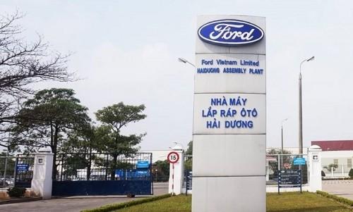 Ford tạm đóng cửa nhà máy sản xuất tại Hải Dương từ ngày 26/3 tới đây do Covid-19