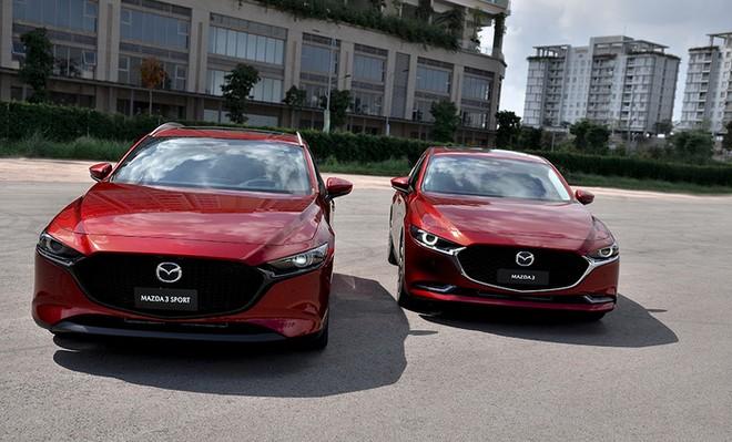 Mazda triệu hồi 300 xe Mazda3 mới để sửa lỗi phanh chủ động