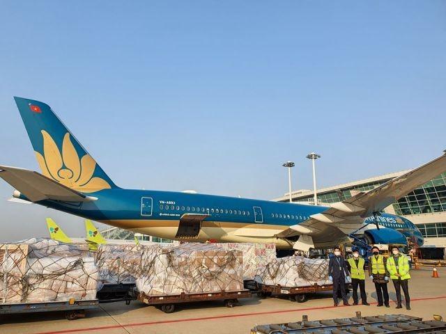 Hàng không thay vì chở khách đã chuyển sang chở hàng hóa trong mùa dịch Covid-19