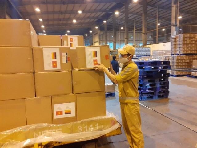 Trang bị y tế viện trợ của Chính phủ, nhân dân Việt Nam gửi tặng Chính phủ, nhân dân 5 nước châu Âu