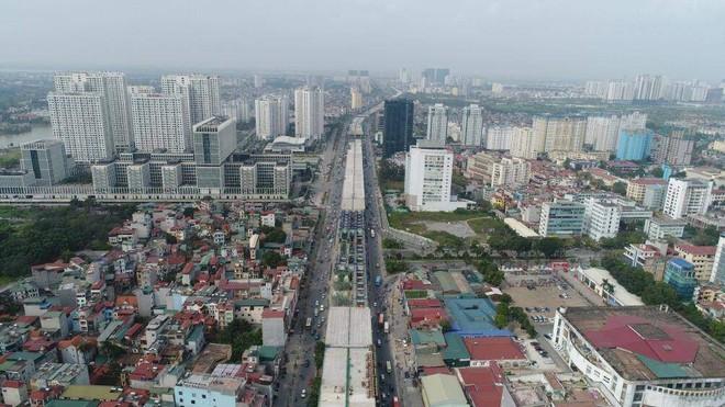 Theo tiến độ, dự án vành đai 3 trên cao đoạn Mai Dịch- Nam Thăng Long sẽ hoàn thành vào tháng 8/2020 tới đây