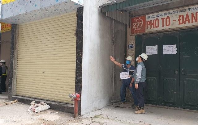 Tòa nhà cao tầng 279 Cầu Giấy, phường Dịch Vọng đang xung đột với nhà ga S7 của dự án đường sắt Nhổn- Ga Hà Nội