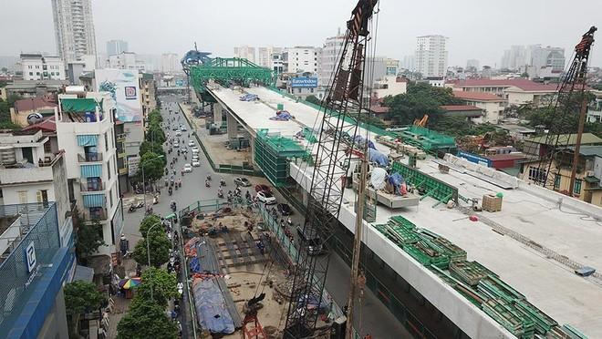 Dự án đường vành đai 2 trên cao từ Ngã Tư Sở tới cầu Vĩnh Tuy