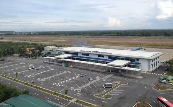 Sân bay Phú Bài sẽ được rót thêm 1.700 tỷ đồng để nâng cấp khu bay?