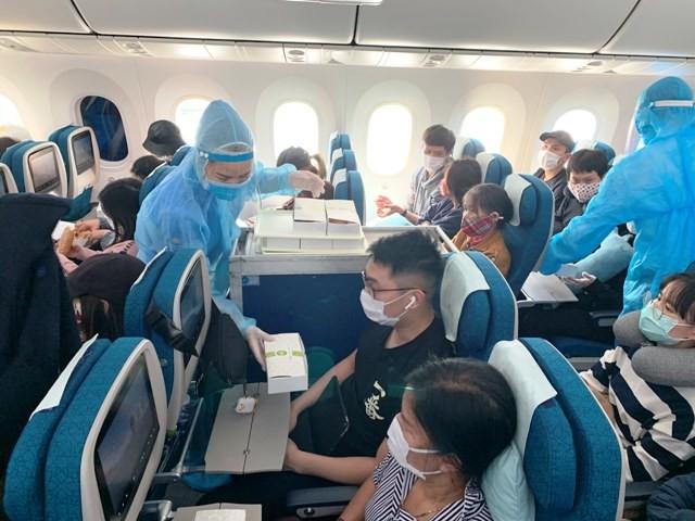 Sẽ có thêm 15 chuyến bay đưa công dân Việt Nam từ nước ngoài hồi hương