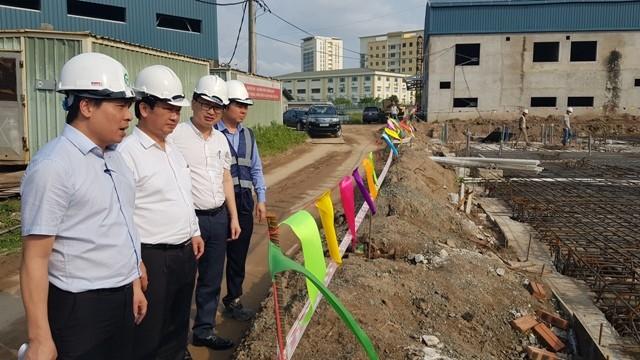 Lãnh đạo UBND TP Hà Nội yêu cầu đẩy nhanh tiến độ các gói thầu dự án đường sắt Nhổn- Ga Hà Nội