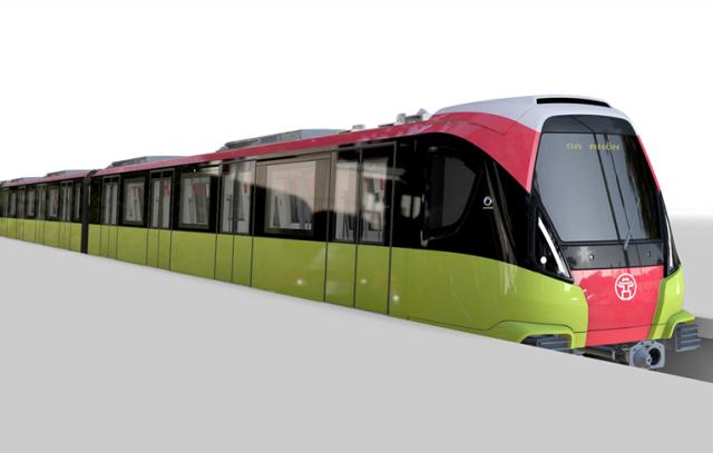 Đoàn tàu đầu tiên dự án đường sắt Nhổn-Ga Hà Nội sẽ về nước vào tháng 12/2020
