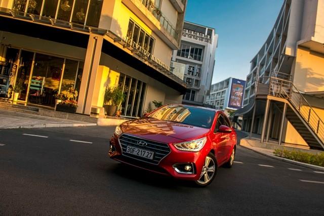 Hyuyndai Accent đứng đầu dòng xe bán chạy tại thị trường Việt Nam của TC Motor