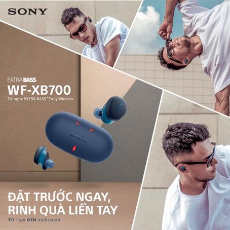 Khám phá tai nghe không dây Truly Wireless WF- XB700 của Sony