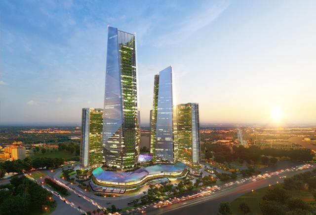 Trung tâm tài chính với các tiêu chuẩn quốc tế hiện đại đang là xu thế tất yếu của tương lai. (Ảnh: Sunshine Empire)