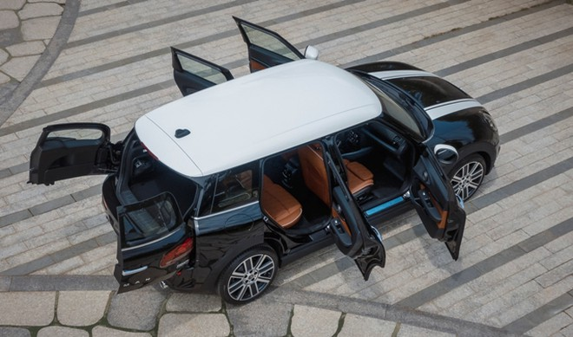 Mini Clubman là mẫu xe duy nhất có 6 cửa trong phân khúc