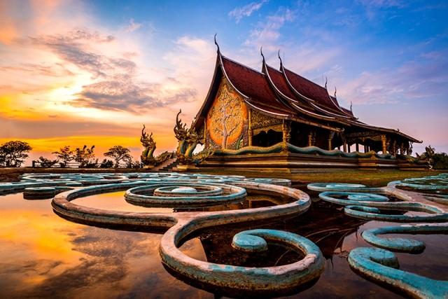 Hiện Vietjet đang khai thác 12 đường bay nội địa tại Thái Lan