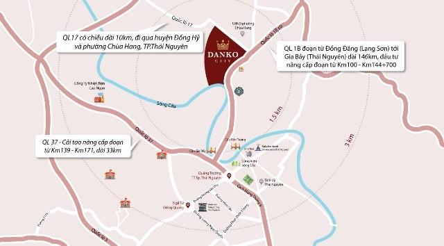 Cơ hội sở hữu nhà liền kề nhận xe sang tại dự án Danko City Thái Nguyên ảnh 3
