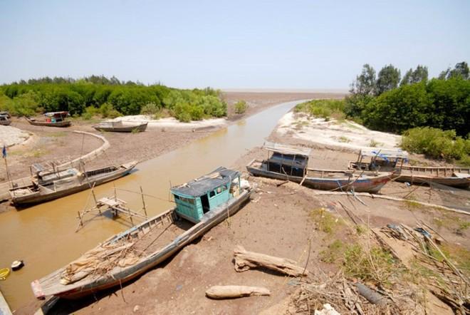 Đồng bằng sông Cửu Long hạn mặn lịch sử trong mùa khô 2019-2020