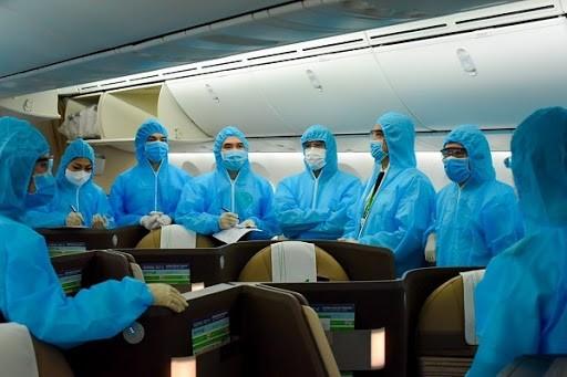 Cục Hàng không yêu cầu, tất cả các tổ bay nhập cảnh vào Việt Nam đều phải thực hiện cách ly theo quy định