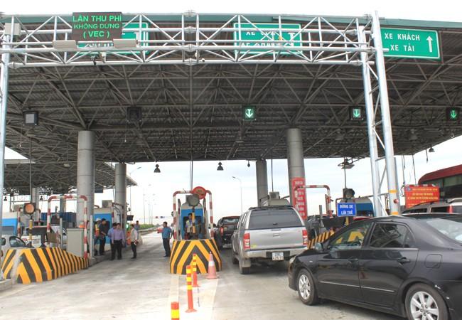 Từ 15h ngày 10-6, cao tốc Pháp Vân- Ninh Bình đã chính thức triển khai thu phí không dừng