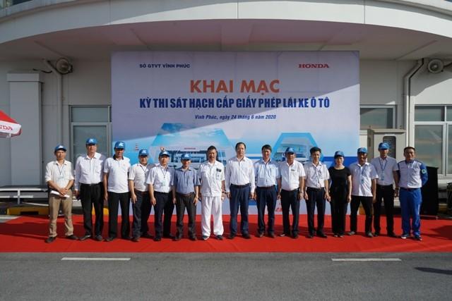 Một hình ảnh do phía Honda Việt Nam phát đi về sự kiện ngày 24/6 vừa qua