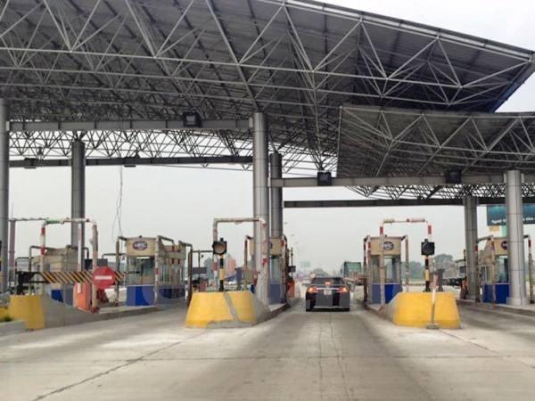 Cao tốc Pháp Vân- Ninh Bình đã thu phí tự động không dừng từ 15h ngày 10/6