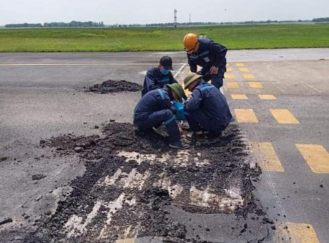 Sân bay Nội Bài đang đóng cửa 1 đường băng để sửa chữa, nâng cấp