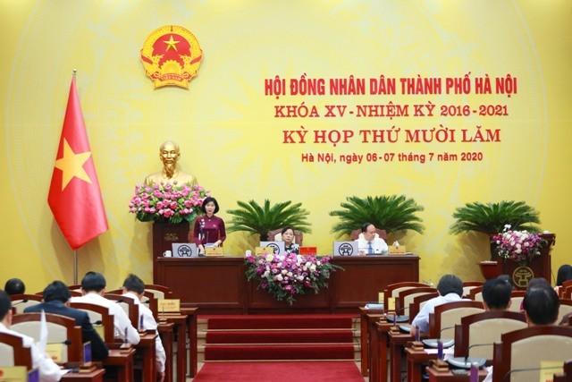 HĐND TP Hà Nội kỳ họp thứ XV thông qua Nghị quyết về việc giữ nguyên học phí các cấp trong năm học 2020-2021