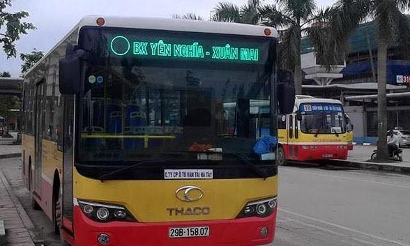 """Công ty CP ô tô vận tải Hà Tây """"dọa"""" dừng chạy tuyến buýt số 72 do hết tiền"""