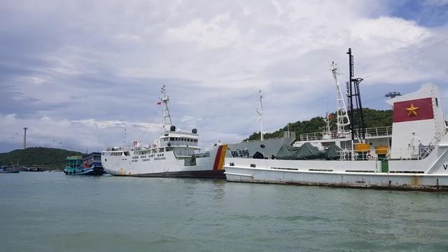Lực lượng Kiểm ngư tại Cảng An Thới, Phú Quốc, Kiên Giang