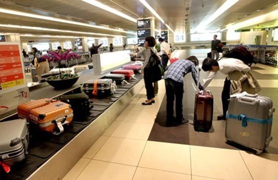 Khu vực đảo băng chuyền chờ lấy hành lý tại sân bay