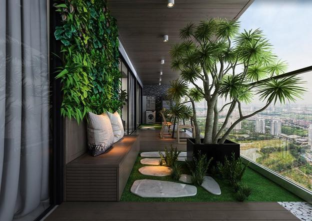 Ngôi nhà ngập tràn sắc xanh, không gian sinh thái, thỏa giấc mơ sống an yên, trong lành của cư dân thượng lưu tại Sunshine Golden River